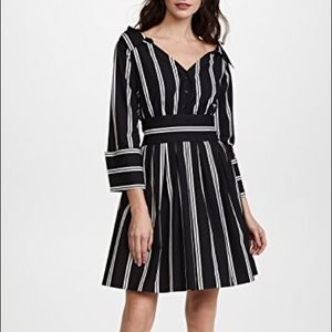 New with Tags - Alice & Olivia Mod Pinstripe Dress